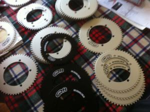 GR8 designs chainrings