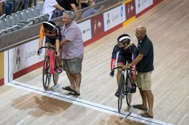 Women Sprint 3-4 Final. 2017 Canadian Track Championships, September 29, 2017